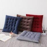 40x40cm Poduszka na siedzisko Mata Bawełniana Kwadratowa Aksamitna Grubsza Podłoga na sofę biurową