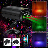 100W RGB Party Lights DJ Disco Strobe Lamp LED Laser Projector Geluidsregeling