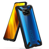 Bakeey for POCO X3 NFC Case with Bumpers Shockproof Anti-Fingerprint Transparent Acrylic Protective Case Non-original