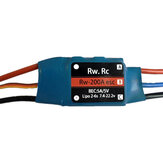 RW.RC 200A Brushless ESC With 5V/5A BEC Support 2S-6S for RC Airplane Fixed Wing FPV Drone