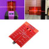 ターゲットボードレーザーレベル赤外線距離測定器磁気赤色ロータリークロスラインレベル測定器