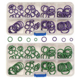 145Pcs A / C R134a Systeem Air Conditioning O Ring Seals Washer Kit