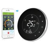 MoesHouse BHT-6000-GCLW Thermostat de chaudière à eau / gaz rétro-éclairage WIFI 3A Écran tactile programmable hebdomadaire LCD fonctionne avec Alexa Google Home
