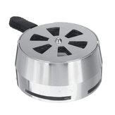 2.52 polegadas Liga de alumínio Hookah Charcoal Holder Bowl Sistema de gerenciamento de calor para acessórios para fumar
