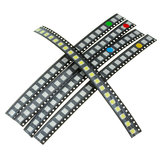 100Pcs 5 Colors 20 Each 5050 LED Diode Assortment SMD LED Diode Kit Green/RED/White/Blue/Yellow