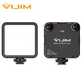 VIJIM VL81 3200k-5600K 850LM 6.5W Dimmable Mini Portable Vlog Fill Light LED Video Light With Cold Shoe Built-in 3000mAh Battery
