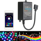 Bluetooth Phone APP Controller Musikfernbedienung Für 5050/3528 RGB LED Strip Light 12V