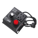 AC 220V 4000W Adjustable Voltage Regulator Motor Speed Controller Fan Control Controller RA