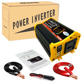 6000W Car Power Inverter 12V-220V/110V Voltage Converter with LCD Display Dual USB 8 Safety Protection