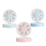 Mini ventilateur portatif de refroidisseur d'air avec miroir de maquillage