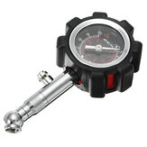 100Psi Tire Inflator Gauge Meter Tools For Car Motorcycle Truck SUV Balls