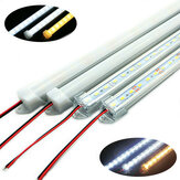 50 CM SMD 5730 36 LED Stiv Strip Tube Bar Lampe Lampe Med U Aluminium Shell + PC Cover DC12V Julepynt Clearance Julelys