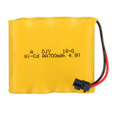 4.8V 700mAh 4S Ni-Cd Battery SM Plug for 23211 1/20 2.4G Rc Car Parts