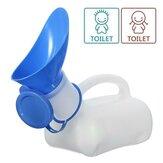 IPRee ™ 1000ml Kadın Erkek Taşınabilir Mobil Pisuvar Mini Plastik Tuvalet Kapaklı Seyahat Kampçılık