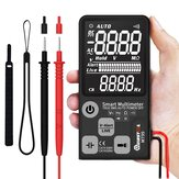 Upgrade MUSTOOL MT99 True RMS 9999 Zählt Digitalmultimeter Ultra-Large EBTN LCD Bildschirm 3-zeiliges Display Vollautomatischer Smart DMM
