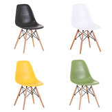 Nordic Style Modern Simple Chair Plastic Home Computer Stool Back Fashion Creative Dining Chair Hotel Office