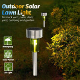 1Pc solare Alimentato LED Path Light Waterproof Yard Garden Outdoor Landscape lampada