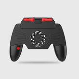 M20 kontroler do gier na smartfony Gamepad Shooter Joystick wyzwalacz joystick na palec Gamepady sterowanie wentylator chłodzący na iOS Android telefon komórkowy