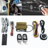 Car Alarm System PKE Keyless Entry Push Button Motor Ontsteking Start Afstandsbediening