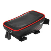 Large Capacity Waterproof Frame Front Tube Cycling Bicycle Phone Bag