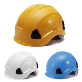 ABS Casco de seguridad Construcción Escalada Steeplejack Trabajadores Sombreros duros protectores