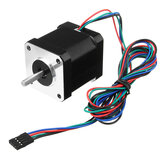 Nema17 59Ncm 2A 1.8 ° 4-lead 48mm Stepper Motor Untuk 3D Printer CNC