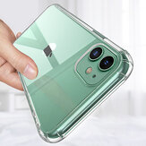 Bakeey with Air Bag Shockproof Transparent Non-Yellow Soft TPU Protective Case for iPhone 12 Mini 5.4 inch