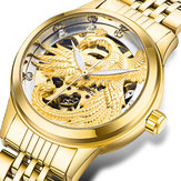 TEVISE 9006 3D Phoenix Display Automatic Mechanical Watch