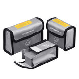 Lipo Battery Explosion-Proof Safety Protective Storage Bag Silver 1/2/3 Pack for DJI Mavic AIR 2 RC Drone