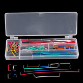 140pcs U Shape Shield Solderless Breadboard Jumper Kit de cables de cable