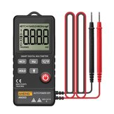ANENG AN303 Mini True Rms Digital Multimeter 4000 Display DC/AC Voltmeter Tester Capacitance NCV Ohm Resistance Hz Test Car