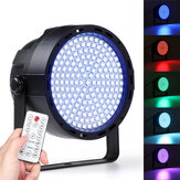 169 LED RGBW Stage 33W  Effect Light Par Lamp Club DJ Party Disco Lighting with Remote Controller