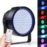 169 LED RGBW Sahne 33 W Etkisi Işık Par Lamba Kulübü DJ Parti Disko Aydınlatma ile Uzakdan Kumanda Denetleyici