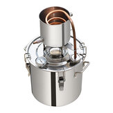 12L/20L/50L Moonshine Still Spirits Kit Water Alcohol Distiller Boiler Home Brewing Kit 201 Stainless Steel T2 Copper DIY