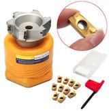 Bap400r-100-32-6t fresa strumento tornio con 10pcs apmt1604pder inserti e chiave T15