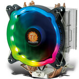 Thermaltake Rainbow D400P CPU Cooler 4 Heat Pipe Multi-Platform Support AM4 LED RGB Moveable Light PWM