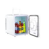 O refrigerador pessoal compacto portátil esfria o refrigerador do carro das calorias