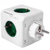Allocacoc Green Dock de charge Dock Original PowerCube prise EU Plug 5 prises adaptateur 16A 250V 3680W Power Cube