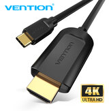 Câble VENTION USB C vers HDMI Câble 4K à 30 Hz HD Vedio pour MacBook Huawei Mate 30 P30 Pro Galaxy S20 Note 20