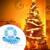 BlitzWolf® BW-LT11 2M/5M Smart APP Control RGBW LED Light Strip Kit Work With Amazon Alexa Google Assistant Christmas Decorations Clearance Christmas Lights