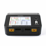 ToolkitRC M6DAC AC 200W DC 700W 15A*2 USB-C 65W QC3.0 Dual Channel Smart Lipo Battery Charger Discharger for 1-6S Lipo Battery