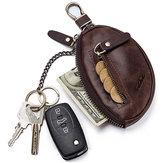 GZCZ Porte-clés en cuir véritable pour voiture