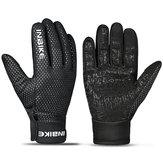 INBIKEPolarFleecefietsfietsenvingerhandschoenen Antislip Silicagel touchscreen Outdoor winddichte handschoenen