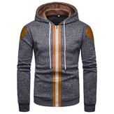 Mens Fashion Hooded Casual Sweatshirt