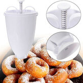Doughnut Maker Batter Dispenser Plastic Donut Cake DIY Baking Tools Maker Cook