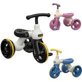 LUDDY 1009S gyerekpedál legjobb tricikli 2-6 éves korú babasétáló eszköz kisgyermek robogó kerékpározás & egyensúlyt edző fiúk & lányok ajándékai