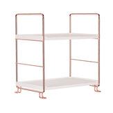 Bathroom Storage Shelf Iron Desktop Cosmetics Organizer Stand Kitchen Storage Rack Holder