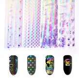 Nail Art Sticker Symphony Star Paper Set UV Gel DIY Decoration Kit