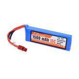 ZD Racing 7.4V 1500mAh 15C 2S Lipo Battery T Plug for DTK16 MT-16 S16 BX-16 9051 9053 16427 1/16 RC Car Vehicles Models