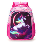 Backpack 12/14/16 Inch Horse-Design Multipurpose Travel Accessories Daypack Casual Schoolbag for Girls